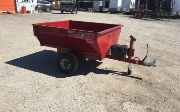 "32""x60"" Midsota Mini Dump Trailer"