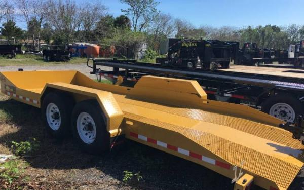 "79.5""x20' Midsota Nova Scissor Lift Tilt Bed Trailer"