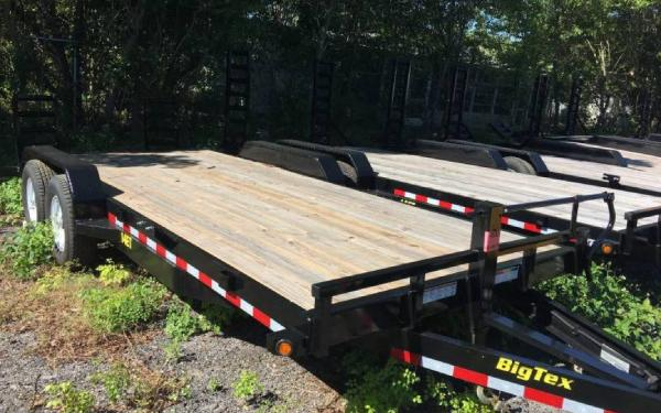 7' x 20'Big Tex Tandem Axle 14ET Equipment Trailer