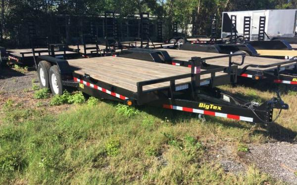 7x18 Big Tex Tandem Axle Equipment Trailer