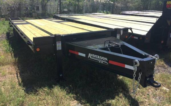 8.5' x 25' Anderson 10-Ton Tagalong Equipment Trailer