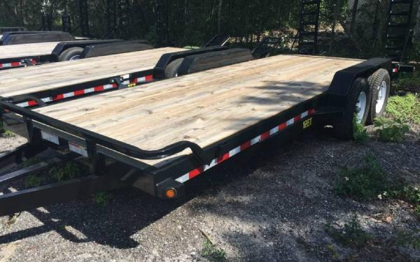 7' x 20' Big Tex Tandem Axle Pro Series Equipment Trailer