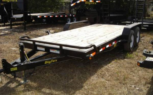 Big Tex 7x18 12ET Equipment Trailer