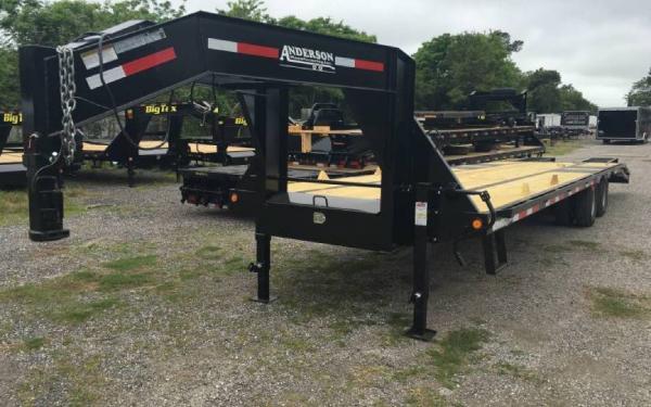 8.5' x 34' 10 Ton Workhorse Gooseneck Trailer