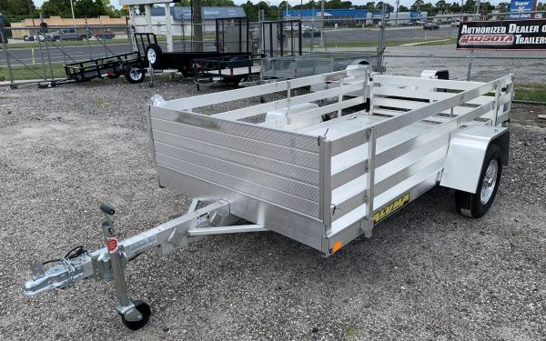 "Aluma 6310BT utility trailer- 63"" x 10'"