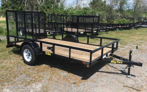 6.5' x 12' 35SA Single Axle Utility Trailer