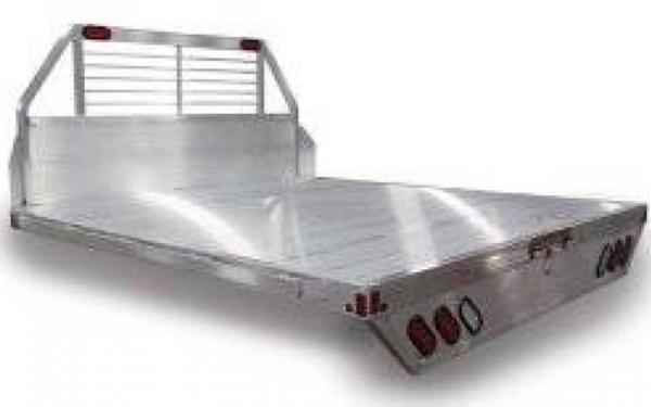 "ALUMA 96"" X 106"" TRUCK BED W/ HEADACHE RACK"