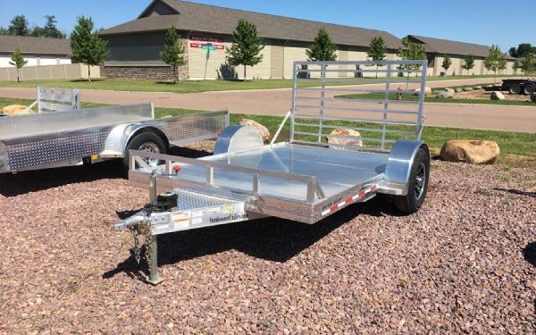 2018 Sundowner 8110 SUT Aluminum Utility Trailer
