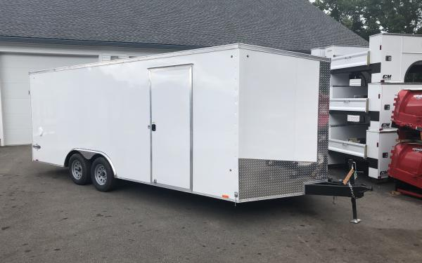 2019 Look Element SE 85x20 Car Hauler Ramp Door