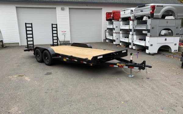 Big Tex 10ET 83x18 standup ramps 9990lb GVWR