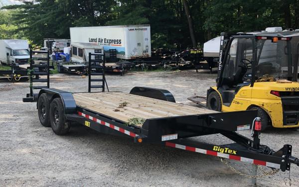 2018 Big Tex 10ET 83x18 standup ramps