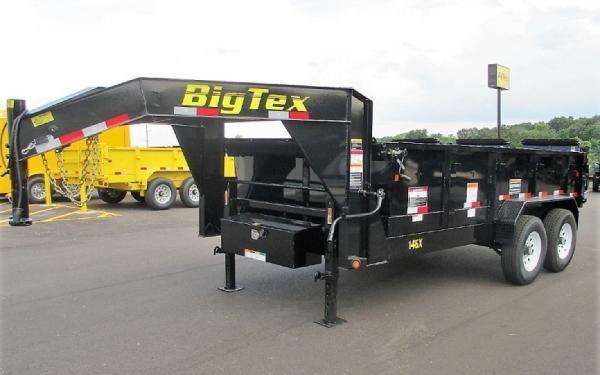 Big Tex 14GX TA,GX,(7 x 16) Black 7Ramps,Led,ComboGate,PU/PD