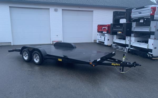 2020 Big Tex 70DM 18ft steel deck car hauler