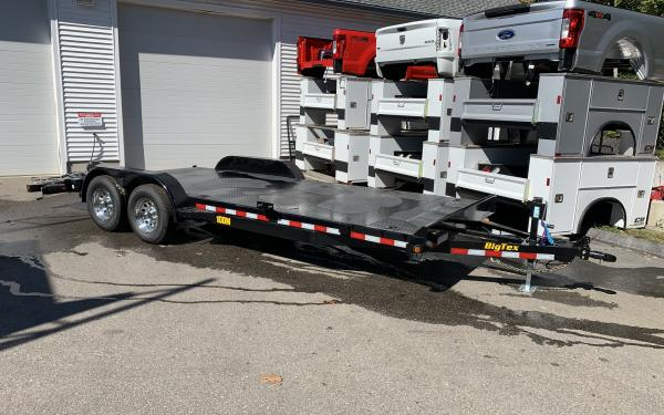 2020 Big Tex 10DM 20ft 9990lb GVWR steel deck car hauler