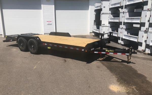 2019 Big Tex 14ET 20ft Equipment Trailer w/Mega Ramps