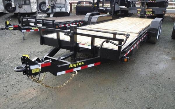 "Big Tex 16TL 83"" x 20 (16 + 4) Super Duty Tilt Bed Trailer"