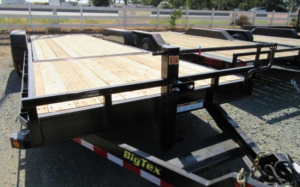 """Big Tex 16TL 83"""" x 20 (16 + 4) Super Duty Tilt Bed Trailer"""