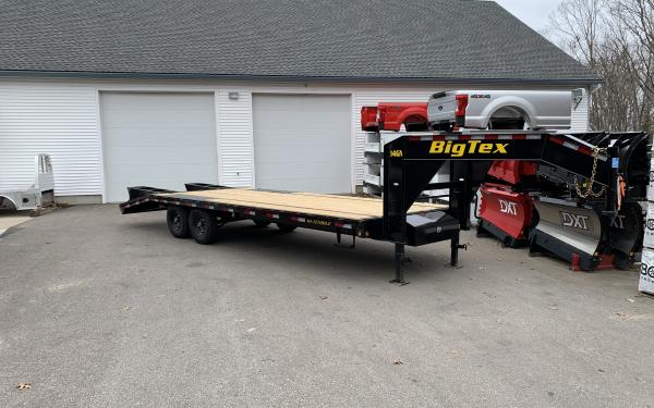 2020 Big Tex 14GN 20+5 with flip over ramps