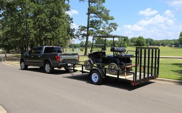 "35SA-77"" x 12 Single Axle Utility Trailer   Silsbee Motor ..."