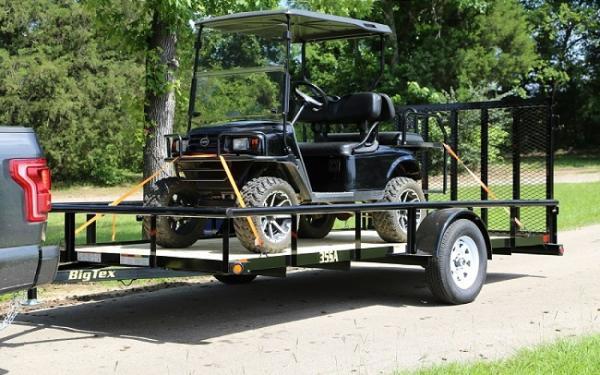 "Silsbee Motor Company >> 35SA-77"" x 14 Single Axle Utility Trailer   Silsbee Motor Company in Silsbee, TX"