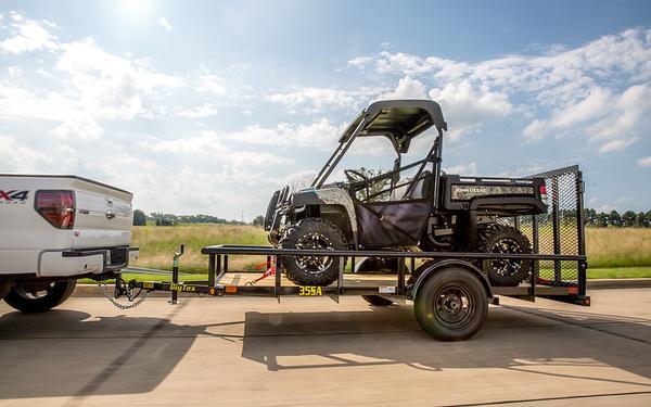 "35SA 77"" x 12 Single Axle Utility Trailer"