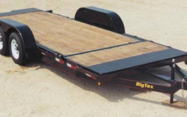 Big Tex 10TL-20 (16 + 4) Pro Series Tilt Bed Equipment Trailer