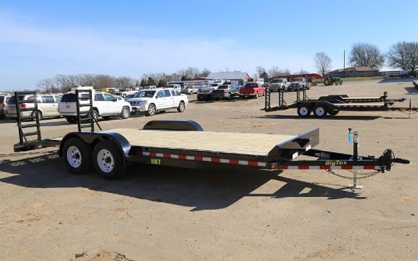 "Big Tex 10ET-83"" x 20 Pro Series Tandem Axle Equipment Trailer"