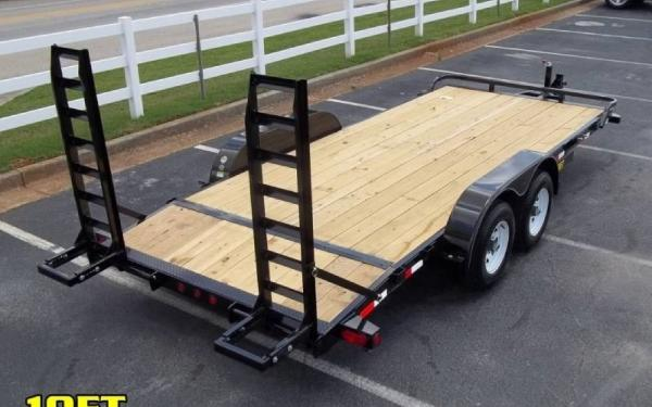 Big Tex 10Et-18 Pro Series Tandem Axle Equipment Trailer
