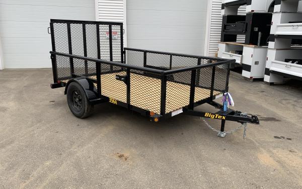 2019 Big Tex 35SA 77x10 landscape trailer 24 inch mesh sides