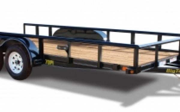 70PI-18' Big Tex Tandem Axle Trailer