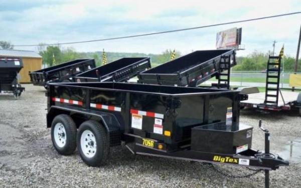Big Tex Single Ram Dump Tandem Axle
