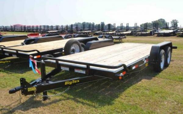 Tandem Axle Big Tex Equipment Trailer