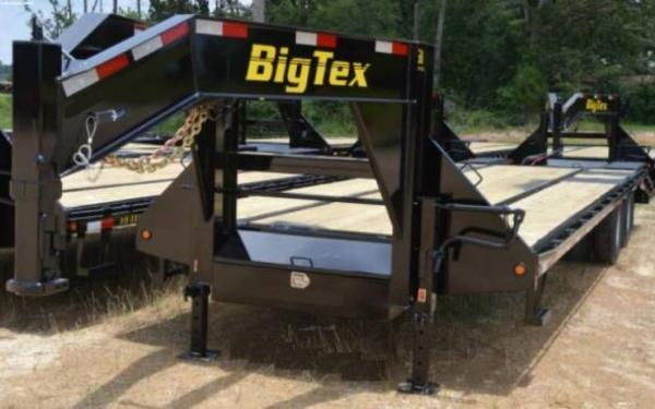 Heavy Duty Big Tex Dual Axle Flatbed