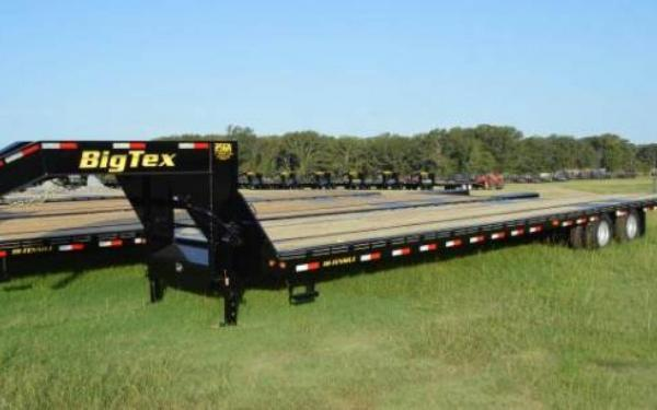 Big Tex Heavy Duty Tandem Dual Gooseneck