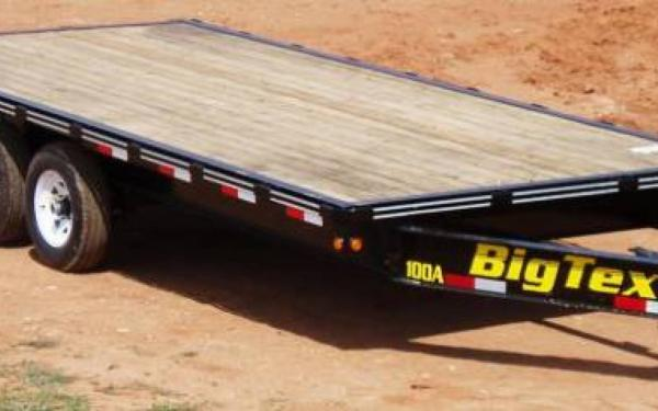 Tandem Axle Over The Axle Trailer