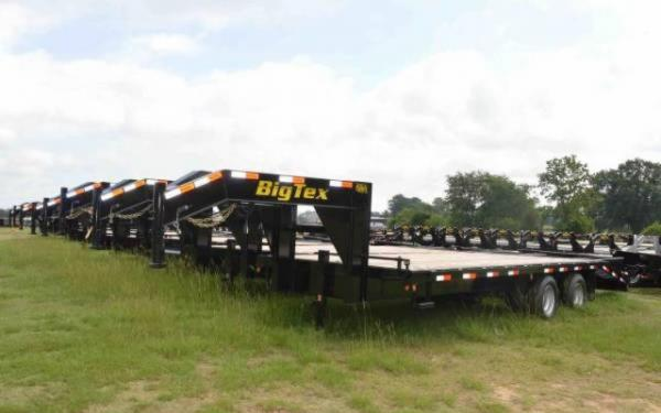 Big Tex Tandem Axle Flatbed Gooseneck