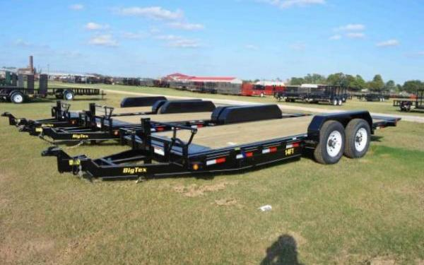 Big Tex Tandem Axle Pro Series Tilt