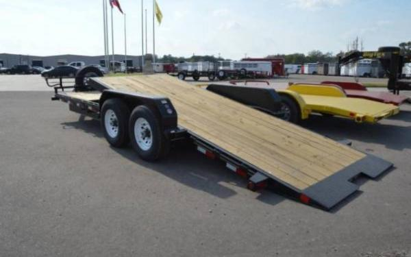 Tilt Bed Pro Series Big Tex Trailer