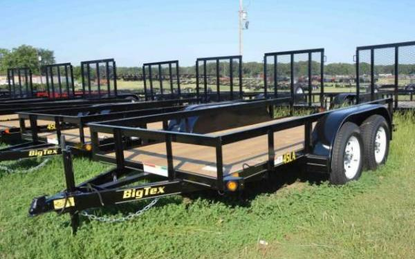 Big Tex Tandem Axle Trailer