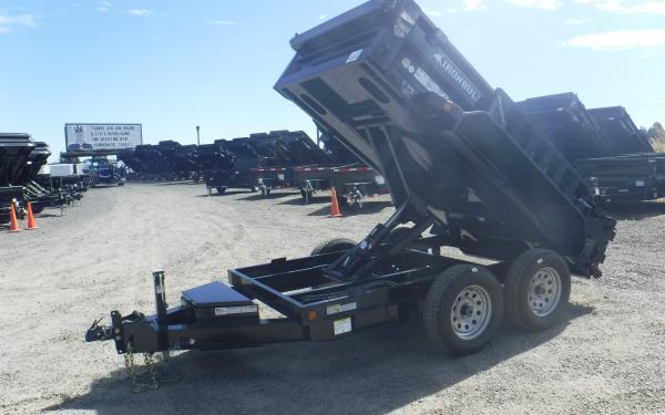 5x10 Ironbull Dump Trailer 7k