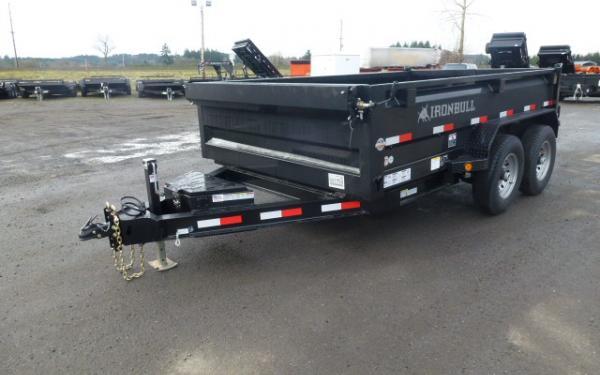 6x12 Ironbull Dump Trailer 14k