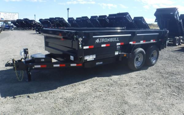 7x12 Ironbull Dump Trailer 14k