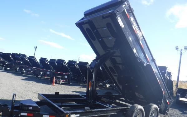 7x16 Ironbull Dump Trailer 14k