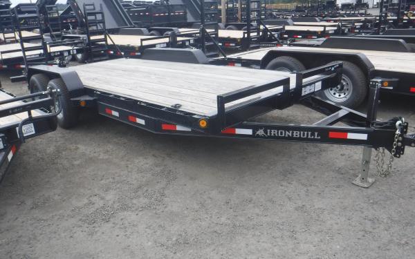 7x16 Ironbull Equipment Trailer 10k
