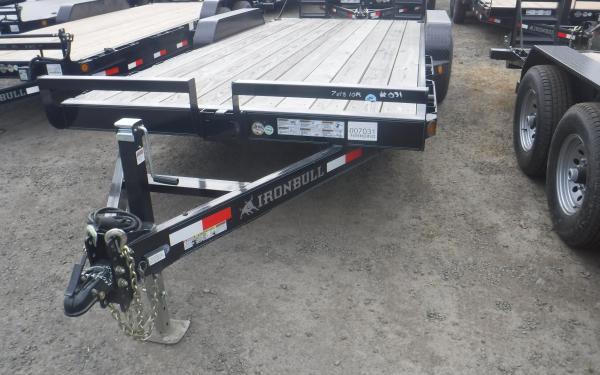 7x18 Ironbull Equipment Trailer 10k