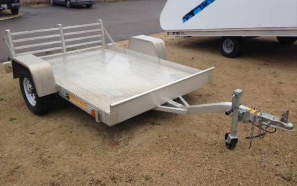 Bear Track 5x8 Single Axle Utility Trailer