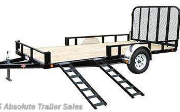 10' PJ ATV Utility Trailer