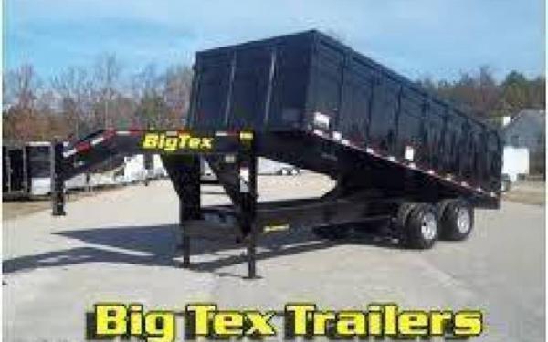 Big Tex Heavy Duty Gooseneck Dump Trailer