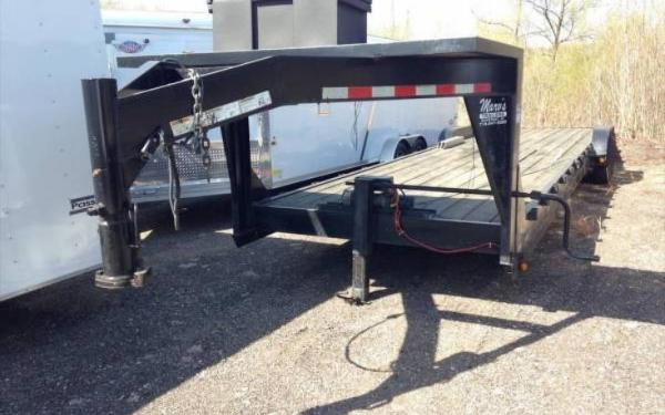 Used 2003 Trailerman Flatbed