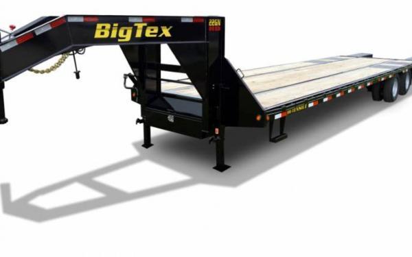 Big Tex 20' Tandem Dual Axle Gooseneck